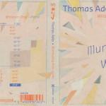 Thomas Adès par Winston Choi : sortie le 30 octobre 2015